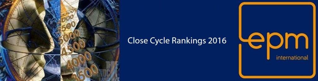 Close Cycle Rankings 2016